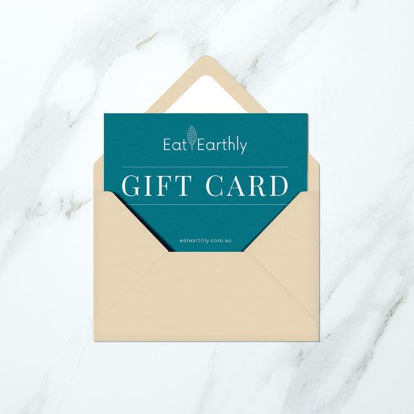 eat earthly vegan meal kit melbourne gift card